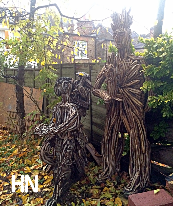Ben Wilson Wood Sculpture HN