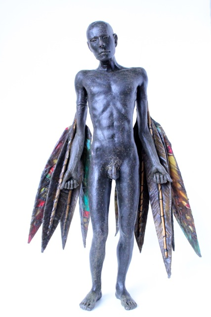 Icarus in bronze, by Jonesy. Also heading to Bristol