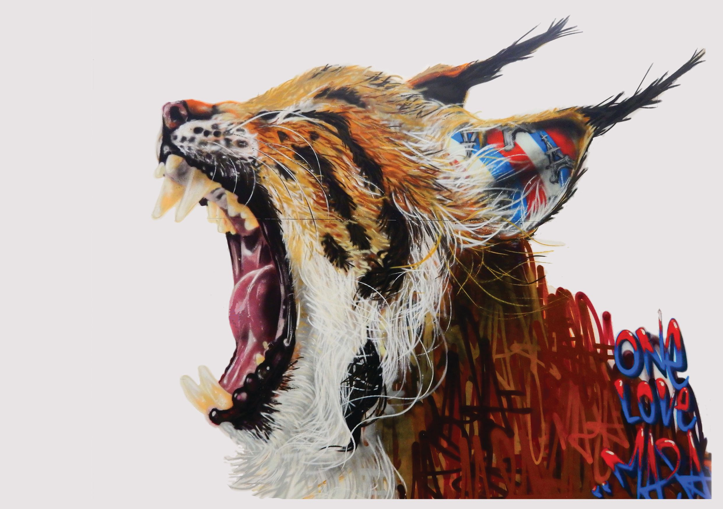 ENDANGERED 13: A mural project by Human Nature & Louis Masai
