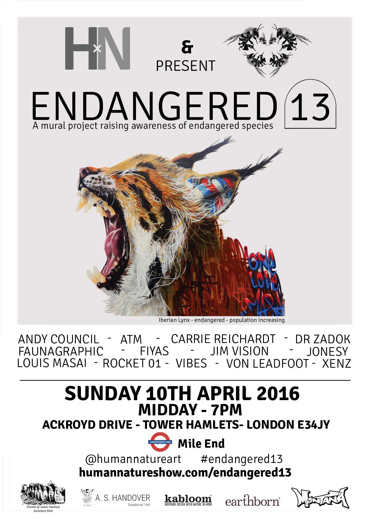 endangered 13 flyer