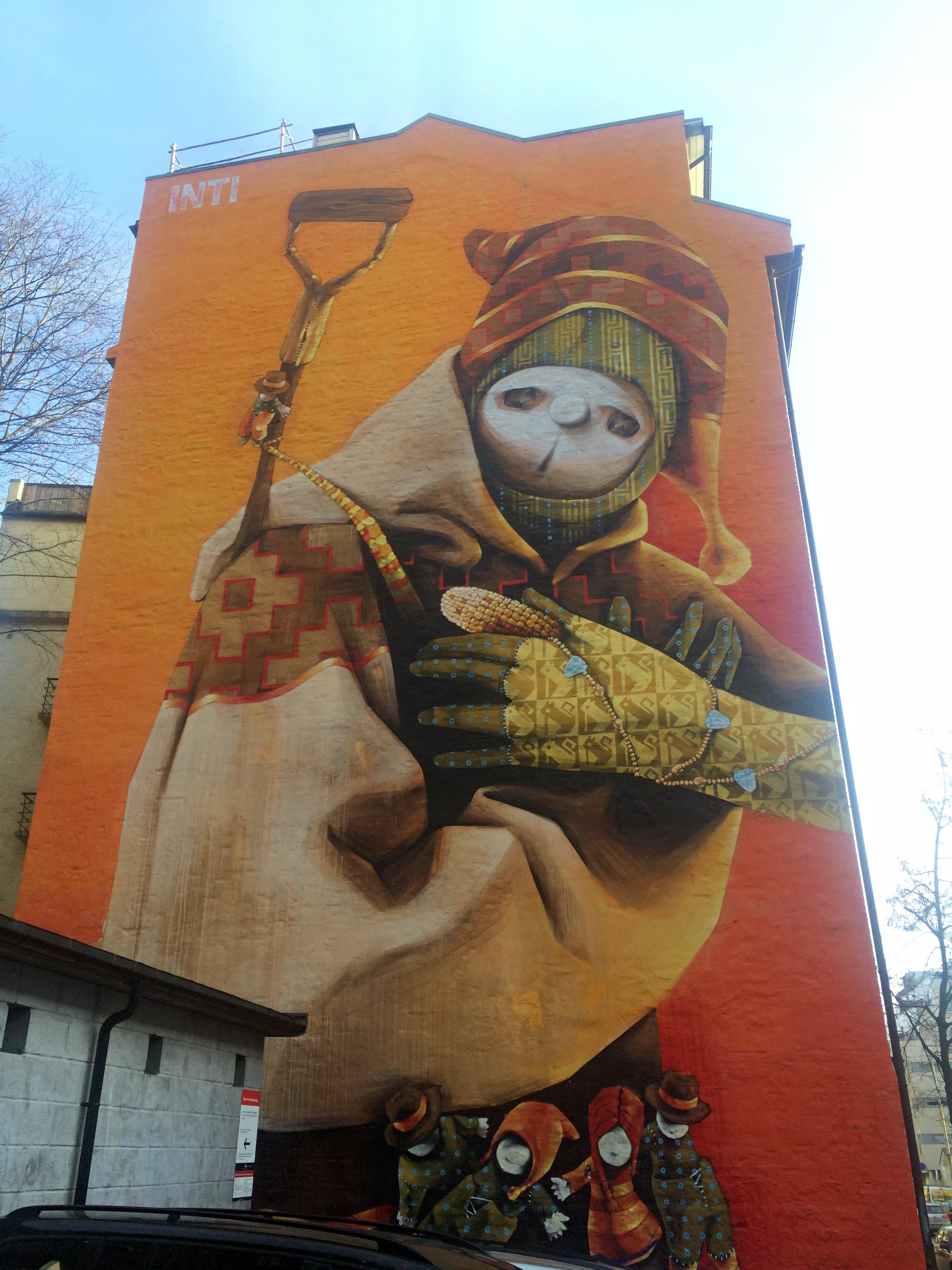 Inti - Street Art - Oslo