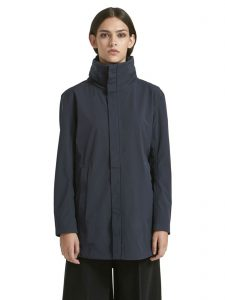 EcoAlf Midnight Navy Kyoto Jacket, made with 52 recycled plastic bottles