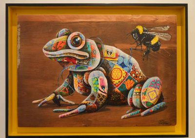 yellow-frame---frog